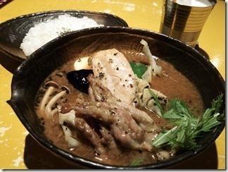 クレイジースパイス札幌店 ササミとセセリのバジルオリーブ風味[サマディースープ](15番 890円)