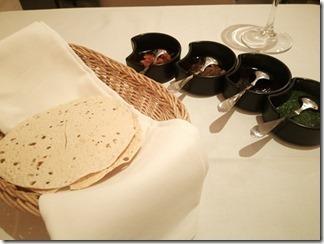 シターラ青山 パパドと4種のチャツネ